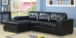 BRAND NEW FABRIC/LEATHER SECTIONAL LOW PRICE