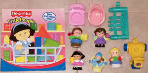 Qty 2 x Fisher Price Little People Happy Sounds Folding House London Ontario image 4