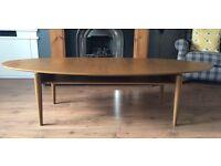 IKEA walnut veneer coffee table - originally £190