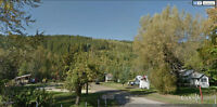 Shuswap BC area: 18.92 acres with house & 4 mobile homes