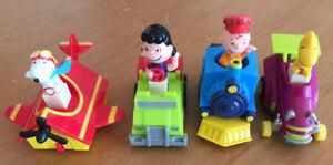Vintage 1989 McDonald Toys