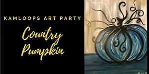 Country Pumpkin Painting Oct 28