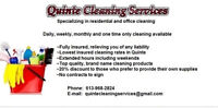 INSURED & VERIFIED HOME & RENTAL CLEANERS