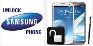 $10 UNLOCKING Samsung Note5 Note4 Note3 Note2 & more