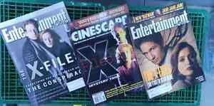 COLLECTION OF 8 VARIOUS X-FILES MAGAZINES