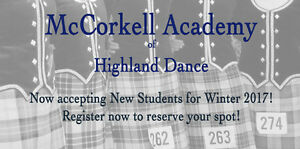 Highland Dance Lessons in Halifax