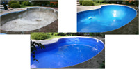 Professionally Installed Vinyl Pool Liners & Safety Covers