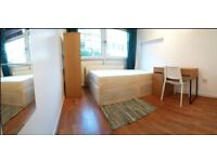 Large Double in Bethnal Green by Victoria Park