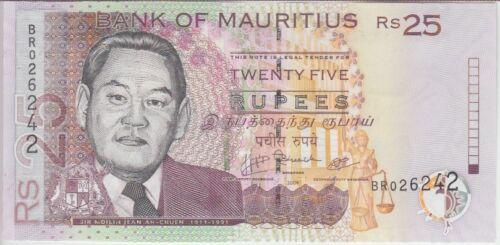 Mauritius Banknote P49d 25 Rupees 2009, UNC