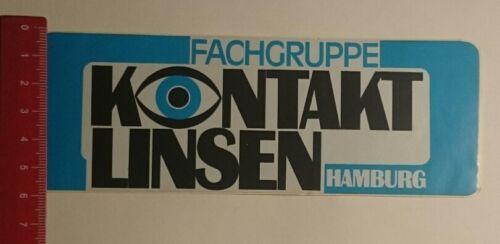 Aufkleber/Sticker: Fachgruppe Kontakt Linsen Hamburg (14121682)