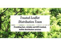 GPS-Tracked Leaflet Distribution! Door To Door Leafleting/Leafletdrop! 100% ASSURED SERVICES!!