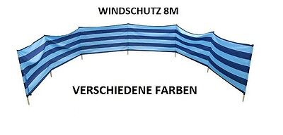 tz für Strand Garten See Meer 8M Baumwolle (Sichtschutz)