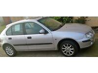 Rover 25 1.6 16v 2000