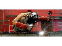 Mobile site welding services