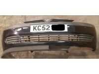 Vauxhall Corsa C Front Bumper Black 2004