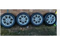 "Jaguar XF alloy wheels 17 """