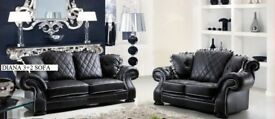 BRAND NEW CHESTERFIELD WINGBACK DIANA 3+2 SOFA + DELIVERY