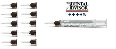 Dental Nextemp Temporary Cement - Std. Kit -1 X 5 Ml Automix Syringes 10 X Tip