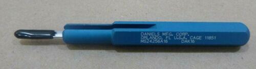 DMC DANIELS MS24256A16 DAK16 CONTACTS PIN INSERTION TOOL FOR CONNECTORS
