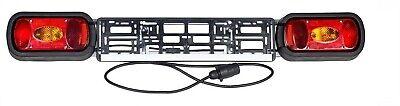 Nuevo Modelo Luz Placa Portabicicletas, Remolque Coche 13 Broches, Cable 140cm