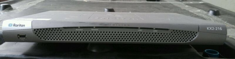 Raritan KX2-216 16 port KVM Switch Dual Power Supply quantity free shipping