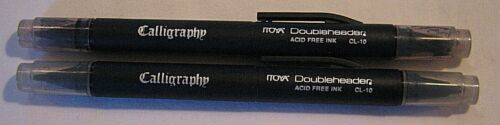 TWO CALLIGRAPHY ITOYA DOUBLEHEADERACID FREE INK CL-10