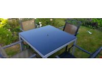 Garden Table & 4 Chairs