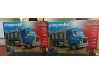 Playmobil dump trucks Brand new in box