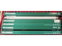 Pack of 5 Sylvania Fluorescent tubes - 300mm x 16mm Diameter - 8 watt - Surplus to requirements