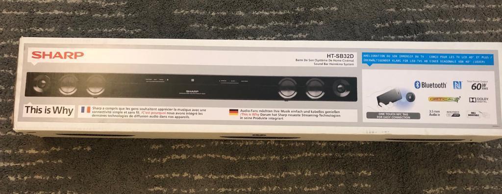 SHARP Sound bar HT-SB32D