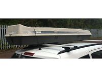 Thule 250 Roof Box FREE DELIVERY Camping Travel Fishing Rods Skiing Caravan Trailer