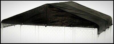 LUCKY Dog Kennel Steel Frame Cover Set Weatherproof Roof Pet