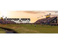 Scotland golf open Sunday 22nd July!