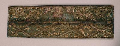 ANTIQUE  BALI Indonesia, ceremonial lid, carved figures