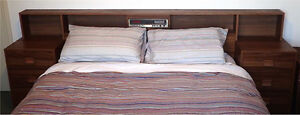 Vintage / Retro Bedhead & Side Draws (only) Altona Meadows Hobsons Bay Area Preview