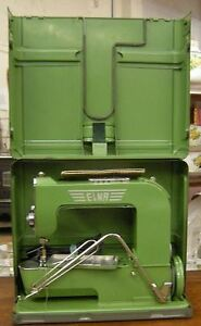 Vintage Elna 1 Grasshopper sewing machine from the 1940-50's