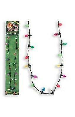 christmas light necklace ebay - Christmas Light Necklace Battery Operated