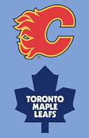 Toronto Maple Leafs VS Flames, Feb 9th, (Tuesday Night Game)