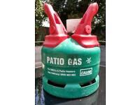 5kg Patio Gas cylinder bottle.