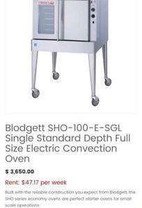 - Brand new Blodgett SHO-100-E-SGL Convection oven