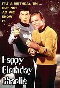 Star Trek Birthday Card