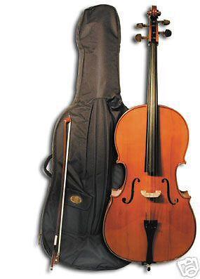 Stentor SR-1108-A-1/4 Student II Cello Set mit Tasche + Bogen + Kolofon