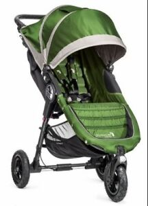 Baby Jogger City Mini GT LIKE NEW lime/grey