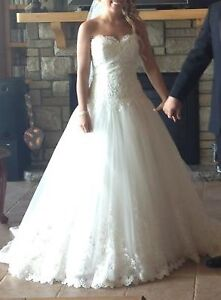 Beautifull Alfred Sung Wedding dress