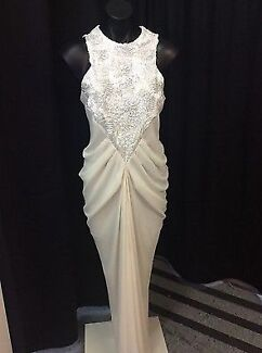 FOR HIRE - CARLA ZAMPATTI Porcelain Georgette Ophelia Gown Applecross Melville Area Preview