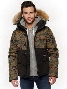 Canada Goose Men Woodland Parka Black Camo