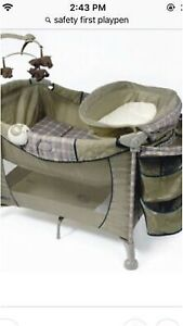 Safety 1 playpen with bassinet