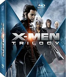 X-Men Trilogy on Blu-Ray-3 films/9 discs + Digital Copy-Superb