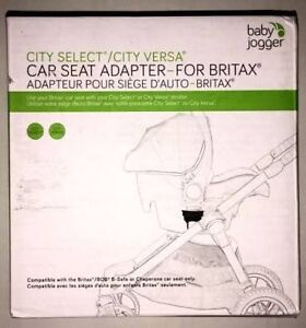 Baby Jogger Car Seat Adapters - City Select or City Versa Sunshine West Brimbank Area Preview