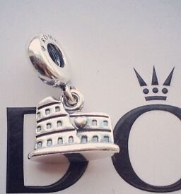 Pandora Colosseum Silver Charm